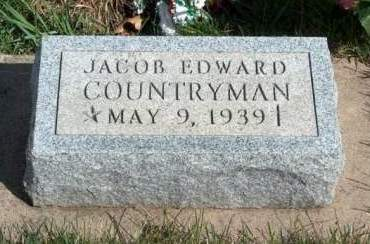 COUNTRYMAN, JACOB EDWARD - Madison County, Iowa | JACOB EDWARD COUNTRYMAN
