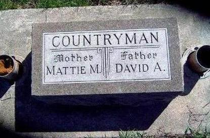 COUNTRYMAN, MATTIE MAE - Madison County, Iowa | MATTIE MAE COUNTRYMAN
