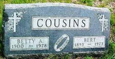 COUSINS, BETTY ALTA - Madison County, Iowa | BETTY ALTA COUSINS