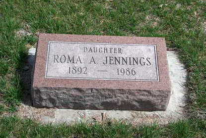 COX JENNINGS, ROMA ALICE - Madison County, Iowa | ROMA ALICE COX JENNINGS