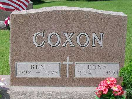 COXON, EDNA LEONA MARIE - Madison County, Iowa | EDNA LEONA MARIE COXON