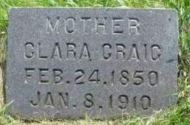 CRAIG, CLARA THERESA - Madison County, Iowa | CLARA THERESA CRAIG