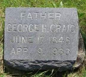 CRAIG, GEORGE HENRY - Madison County, Iowa | GEORGE HENRY CRAIG
