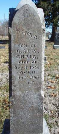 CRAIG, WILLIAM ANCIL PRESTON - Madison County, Iowa | WILLIAM ANCIL PRESTON CRAIG
