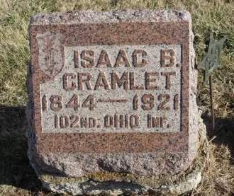 CRAMLET, ISAAC BEARD - Madison County, Iowa | ISAAC BEARD CRAMLET