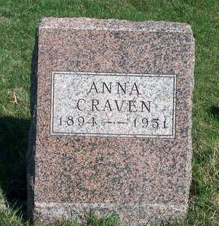 CRAVEN, ANNA ELIZA - Madison County, Iowa | ANNA ELIZA CRAVEN