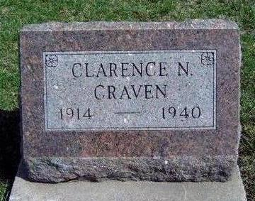 CRAVEN, CLARENCE N. - Madison County, Iowa | CLARENCE N. CRAVEN