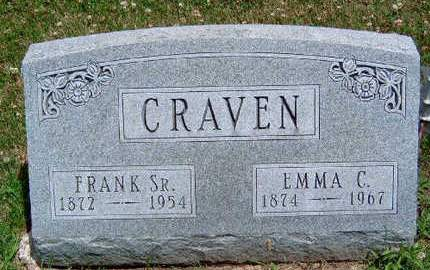 CRAVEN, FRANK C.,  SR. - Madison County, Iowa | FRANK C.,  SR. CRAVEN