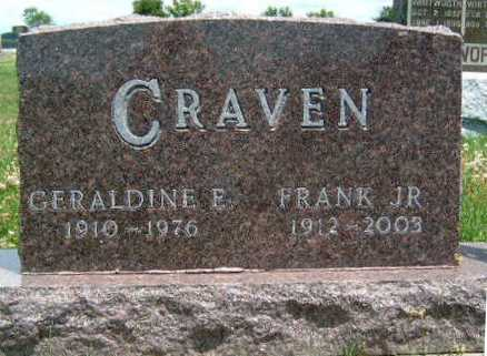 CRAVEN, FRANK C., JR. - Madison County, Iowa | FRANK C., JR. CRAVEN
