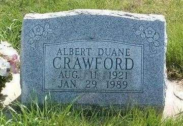CRAWFORD, ALBERT DUANE - Madison County, Iowa | ALBERT DUANE CRAWFORD