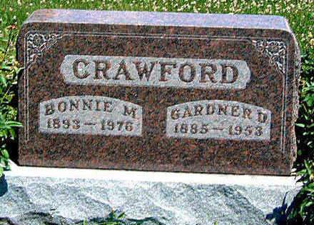 CRAWFORD, BONNIE M. - Madison County, Iowa | BONNIE M. CRAWFORD