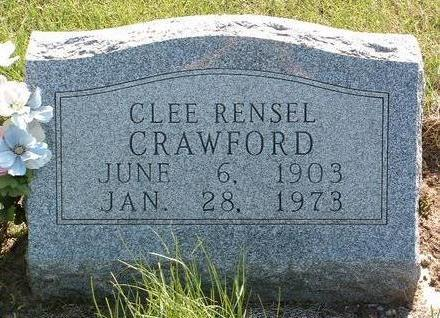CRAWFORD, CLEE RENSEL - Madison County, Iowa | CLEE RENSEL CRAWFORD