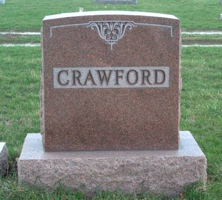 CRAWFORD, FAMILY STONE - Madison County, Iowa | FAMILY STONE CRAWFORD