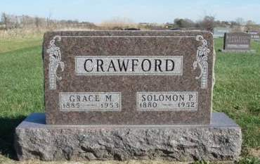 CRAWFORD, GRACE M. - Madison County, Iowa | GRACE M. CRAWFORD