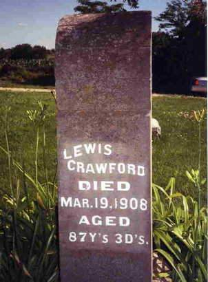 CRAWFORD, LEWIS - Madison County, Iowa | LEWIS CRAWFORD