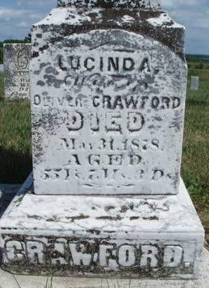 WILKIN CRAWFORD, LUCINDA - Madison County, Iowa | LUCINDA WILKIN CRAWFORD