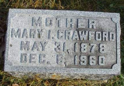 ARNOLD CRAWFORD, MARY ISABELLE - Madison County, Iowa | MARY ISABELLE ARNOLD CRAWFORD