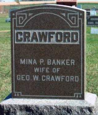 BANKER CRAWFORD, MINA PEARL - Madison County, Iowa | MINA PEARL BANKER CRAWFORD