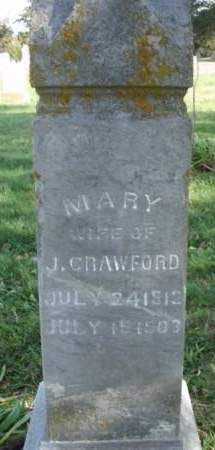 MCCOY CRAWFORD, MARY - Madison County, Iowa | MARY MCCOY CRAWFORD