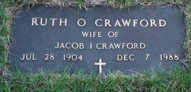 CRAWFORD, RUTH O. - Madison County, Iowa | RUTH O. CRAWFORD