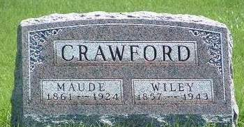 CRAWFORD, EVA MAUDE - Madison County, Iowa | EVA MAUDE CRAWFORD