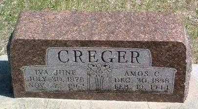 CREGER, AMOS C. - Madison County, Iowa | AMOS C. CREGER