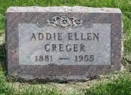 CREGER, ADDIE ELLEN - Madison County, Iowa | ADDIE ELLEN CREGER