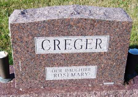 CREGER, FAMILY HEADSTONE - Madison County, Iowa | FAMILY HEADSTONE CREGER