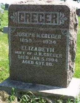 CREGER, ELIZABETH - Madison County, Iowa | ELIZABETH CREGER