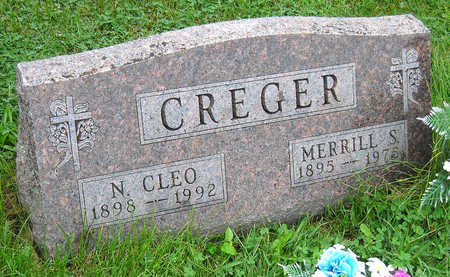 YOUMANS CREGER, NOLA CLEO - Madison County, Iowa | NOLA CLEO YOUMANS CREGER