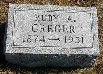 CREGER, REUBEN ANDREW (RUBY) - Madison County, Iowa | REUBEN ANDREW (RUBY) CREGER