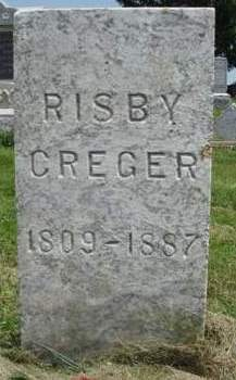CREGER, RISBY / RUBY R. - Madison County, Iowa | RISBY / RUBY R. CREGER