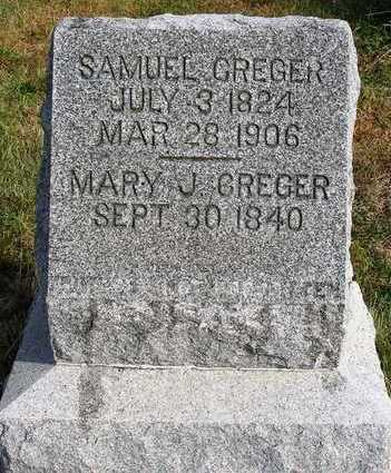 GARST CREGER, MARY JANE - Madison County, Iowa | MARY JANE GARST CREGER