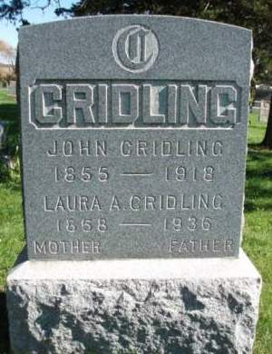 CRIDLING, LAURA ANN - Madison County, Iowa | LAURA ANN CRIDLING