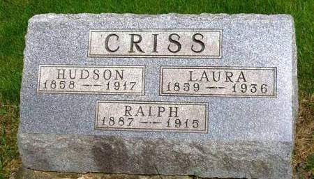 CRISS, RALPH W. - Madison County, Iowa | RALPH W. CRISS