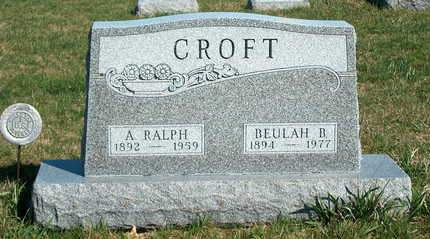 CROFT, BEULAH B. - Madison County, Iowa | BEULAH B. CROFT