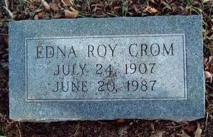 CROM, EDNA CATHERINE - Madison County, Iowa | EDNA CATHERINE CROM