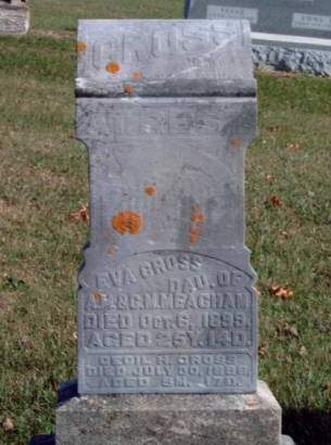 MEACHAM CROSS, EVA MELVINA - Madison County, Iowa | EVA MELVINA MEACHAM CROSS