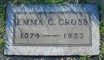 CROSS, EMMA C. - Madison County, Iowa | EMMA C. CROSS