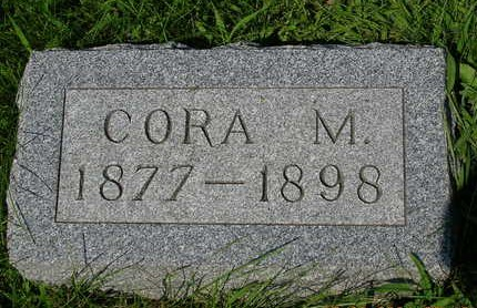 CROSSLEY, CORA M. - Madison County, Iowa | CORA M. CROSSLEY