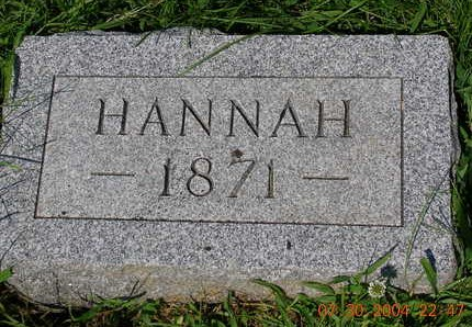 CROSSLEY, HANNAH E. - Madison County, Iowa | HANNAH E. CROSSLEY
