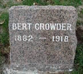 CROWDER, ALBERT JAMES (BERT) - Madison County, Iowa | ALBERT JAMES (BERT) CROWDER