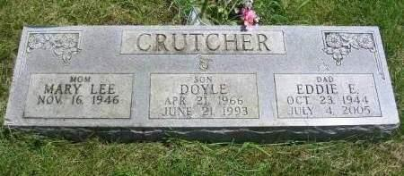 CRUTCHER, EDDIE E. - Madison County, Iowa | EDDIE E. CRUTCHER