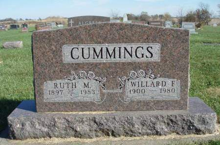 CUMMINGS, DELLA RUTH M. - Madison County, Iowa | DELLA RUTH M. CUMMINGS