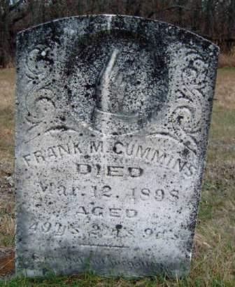CUMMINS, FRANCIS MARION (FRANK) - Madison County, Iowa   FRANCIS MARION (FRANK) CUMMINS