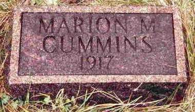 CUMMINS, MARION M. - Madison County, Iowa | MARION M. CUMMINS