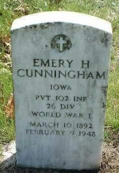 CUNNINGHAM, EMERY HARRY - Madison County, Iowa | EMERY HARRY CUNNINGHAM