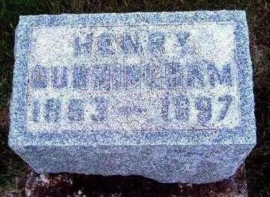 CUNNINGHAM, HENRY - Madison County, Iowa | HENRY CUNNINGHAM