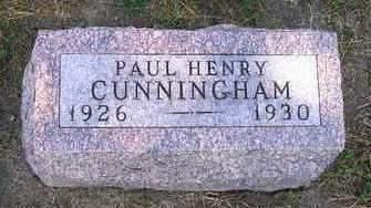 CUNNINGHAM, PAUL HENRY - Madison County, Iowa | PAUL HENRY CUNNINGHAM