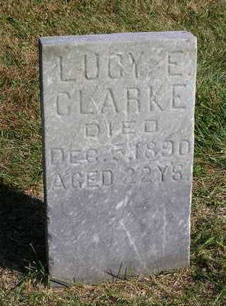 CUTLER CLARKE, LUCY - Madison County, Iowa | LUCY CUTLER CLARKE